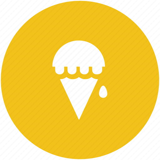 cake cone, cup cone, dessert, ice cone, ice cream, sweet food icon