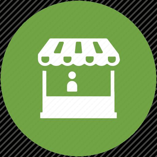 market place, market stand, retail store, shop, store, supermarket icon