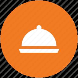 chef platter, food, food platter, food serving, platter, restaurant, serving platter icon