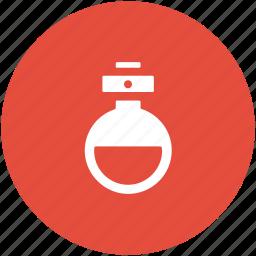 amperes tube, lab equipment, lab flask, volumetric flask icon