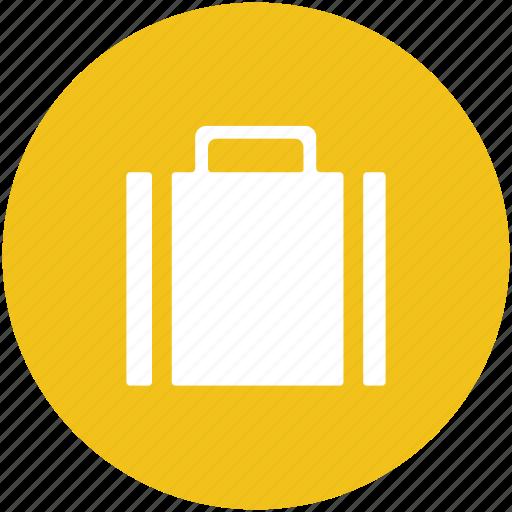 briefcase, business bag, luggage, portfolio, suitcase icon