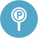 car parking, parking, parking area, parking sign, road sign, traffic sign icon