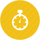 chronometer, chronometer watch, counter, stop clock, stopwatch icon