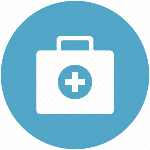 doctor bag, first aid, first aid box, first aid kit, medical aid, medical box, medicine box icon