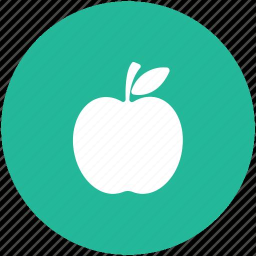 apple, diet, food, fruit, healthy diet, red fruit icon