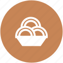 cookies, food bowl, meal, noodles, snacks, spaghetti, vermicelli icon