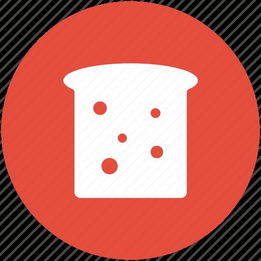 bakery food, bread, bread slice, breakfast, food, sandwich, toast icon