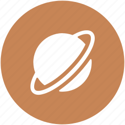 orbit, planet, planetary system, scien, solar system icon
