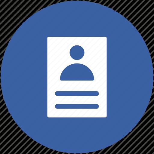 bio data, curriculum vitae, cv, job application, resume icon