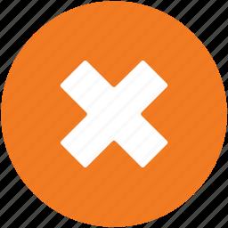 cancel, cross, delete, multiply, remove icon