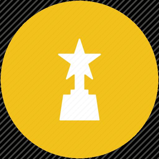 award, champion, star award, trophy, winner icon