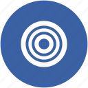 archery, bullseye, crosshair, dartboard, target icon