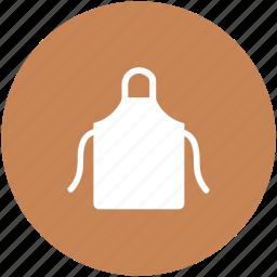 apron, cooking apron, kitchen apron, kitchen clothing, pinafore apron icon
