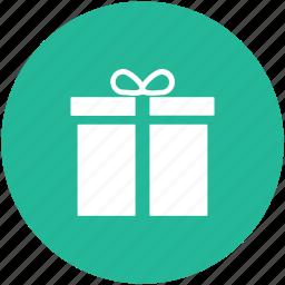 christmas gift, gift, gift box, gift hamper, present icon