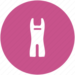 clothing, fashion, garments, jumpsuit, playsuit, rompers icon