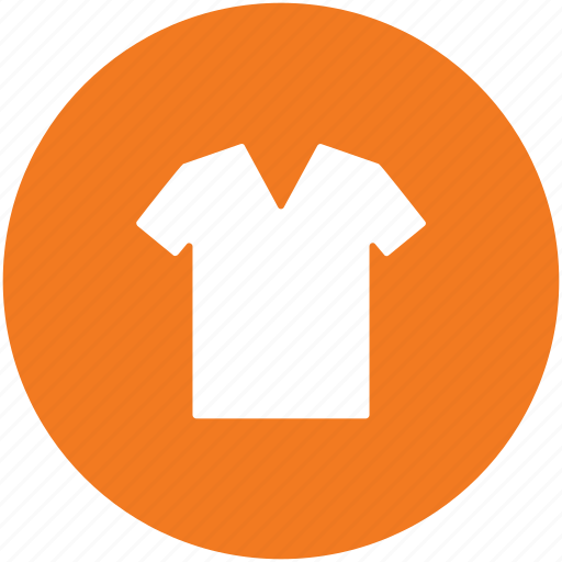 clothing, garments, shirt, summer shirt, t shirt, tee icon