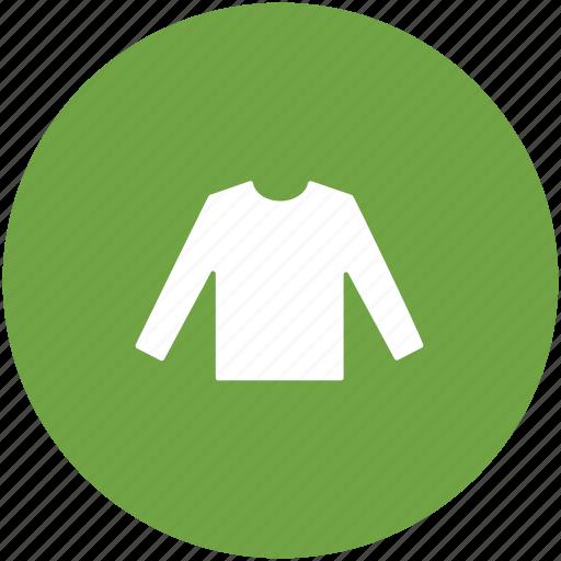 clothing, garments, jumper, long sleeved, shirt, shirt top icon