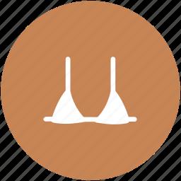 bikini, bra, brassiere, innerwear, undergarment, woman wear icon