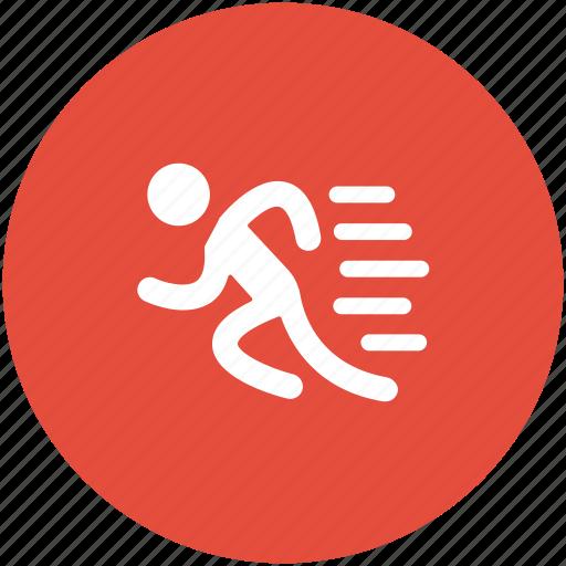 athlete, runner, running, sportsman, sportsperson icon