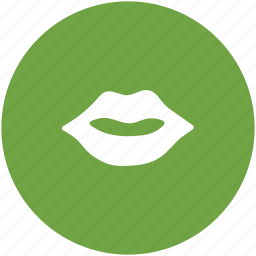 lips, lips beauty, lips care, personal care, smiling lips icon