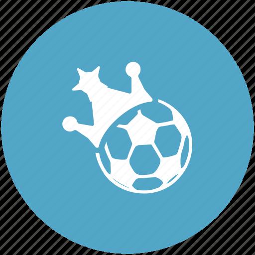 crown, football, football champion, football match, football winner, saucer winner icon