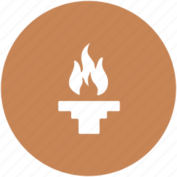 flambeau burn, olympic, olympic flame, olympic torch, sports flame, torch relay icon
