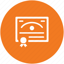 certificate, contract, deed, degree, diploma, document icon