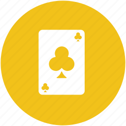 card game, casino card, club card, playing card, poker card icon
