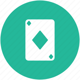 card game, casino card, diamond card, playing card, poker card icon