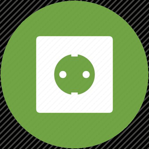 Electric socket, plug socket, plugin, power plug, socket, wiring accessories icon - Download on Iconfinder