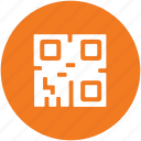 barcode matrix, qr code, qr label, quick response code, scanning code