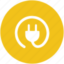 electric plug, electricity, plug, power plug, power supply, socket plug icon