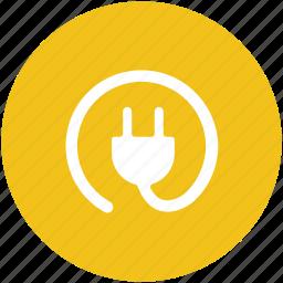 electric plug, electricity, plug, power plug, power supply, socket plug icon
