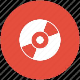 cd, compact disk, digital video disk, disk, dvd, multimedia, vinyl icon