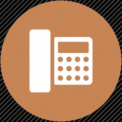 call, communication, landline, technology, telecommunication, telephone icon