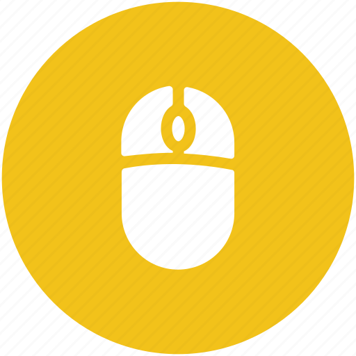 Computer device, computer mouse, hardware device, input device, mouse, pointing device icon - Download on Iconfinder