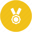 award medal, champion, medal, prize icon