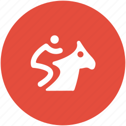 horse, horse racing, horse rider, horse riding, sports icon