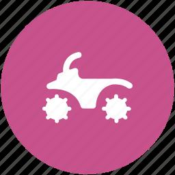 bike, motor bike, motorcycle, transports, travel icon