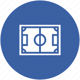 football field, football ground, football pitch, playground, soccer field, stadium icon