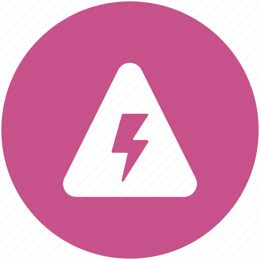 danger, dangerous, electricity warning, high voltage, power warning, volt safety icon
