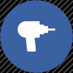 drill, drill machine, drilling service, electric drill, power tool icon