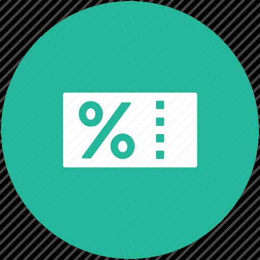 discount label, discount tag, discount voucher, percentage label, sale voucher icon