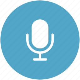 audio recording, handheld mic, mic, microphone, radio mic, sound, voice recording icon
