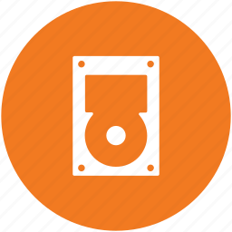computer hardware, disc player, hard disk, hard drive, hardware, storage device icon
