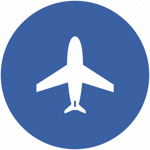 aeroplane, air transport, aircraft, airplane, fly, jet, plane icon