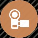 camcorder, camera, handycam, video camera, video recording