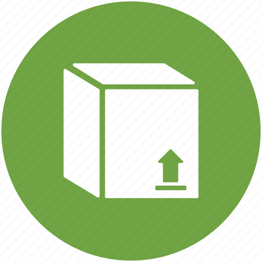 box, cardboard box, courier box, delivery box, package, parcel icon