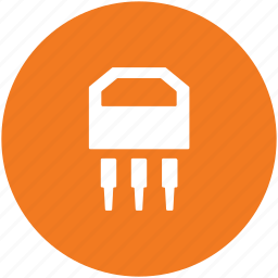 chip, computer chip, electronic circuit, ic, integrated circuit, microchip, silicon chip icon