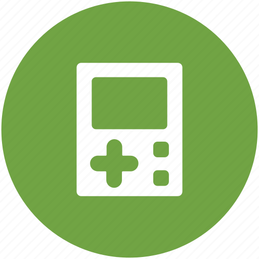 game, game device, gameboy, handheld game, mobile game icon